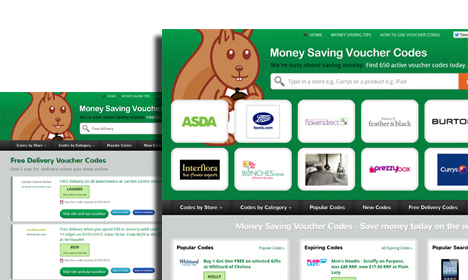 money saving voucher codes web site imageshot